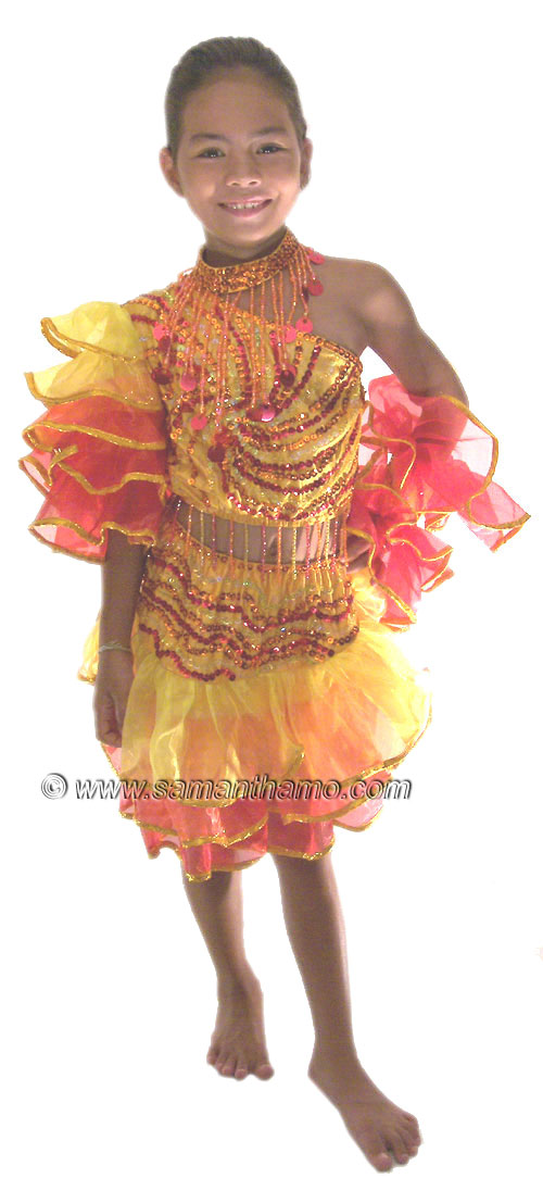 Stc2040c Tailor Made Children S Flamenco Costumes 124 99