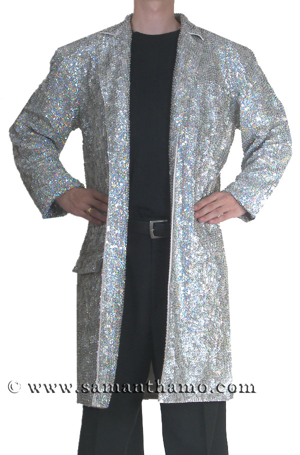 https://michaeljacksoncelebrityclothing.com/sequin-stage-shirts/men-cabaret-clothing/CSJ512-silver-sequin-long-trench-coat-b.jpg