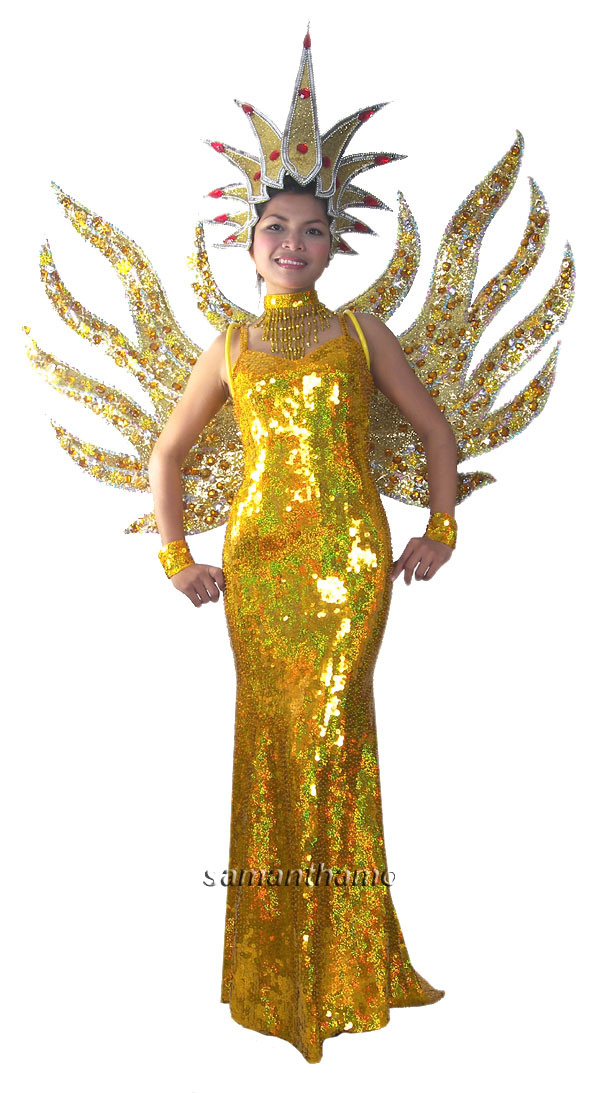 Stc2034 Tailor Made Las Vegas Show Girl Costumes 722